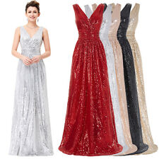 Sexy Elegant Formal Long Evening Ball Prom Gown Party Cocktail Bridesmaid Dress