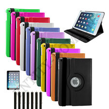 UK 360 Rotating PU Leather Stand Case Cover for Apple iPad Mini 1/2