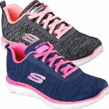 2016 SKECHERS FLEX APPEAL 2.0 AIR COOLED MEMORY FOAM WOMENS WALKING SHOES
