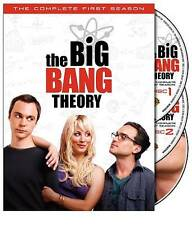 Big Bang Theory - The Complete First Season (Season 1) (DVD, 2008, 3-Disc Set)