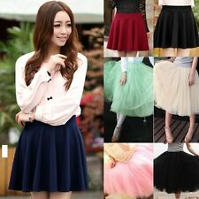 Womens Girls Layered Tulle Dress Princess Fairy Bouffant Skirt 5 Colors MDWK