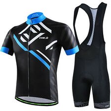 New Bike Clothing Suit Riding Cycling Bike Jersey Bibs/Shorts Set Bicycle Wear