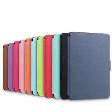 Folding PU Leather Magnetic Flip Case Cover For Amazon Kindle Paperwhite LXUK