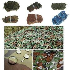 Camouflage Camo Net Netting Cover Blind Army Military Hunting Woodland Decor