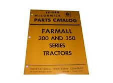 Farmall International 300 350 Part Catalog IH McCORMICK