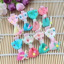 10pcs/lot girls baby toddler boutique Hair Bow mixed kids hair clips barrettes