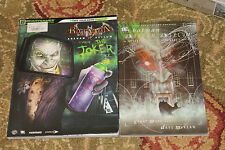 BATMAN ARKHAM ASYLUM THE Joker STRATEGY GUIDE +15th anniversary book Morrison