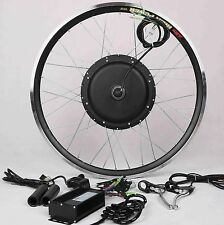 48V1000W Hi Speed Electric Bicycle E Bike Hub Motor Conversion Kit Front Wheel