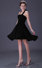 Evening Party Short Prom Dress Cocktail Party Mini Homecoming Dresses Black Red