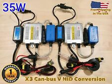 LOW BEAMS H7 35W X3 CANBUS HID Xenon No Error Slim KIT FOR AMANTI DISCOVERY LR4