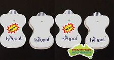 TENS Machine Replacement Electrode Pads  Suit most snap type machines *NEW*