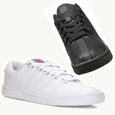 K-Swiss Classic Varsity Mens Casual Shoes White And Black