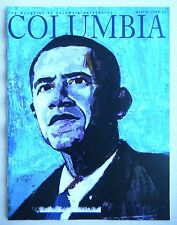 BARACK OBAMA: RARE COLUMBIA MAGAZINE WINTER 2008-2009