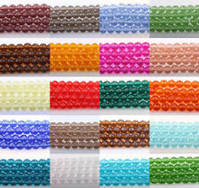 20-100pcs Czech Glass Crystal Faceted Rondelle Spacer Bead Charm Finding 4-10MM
