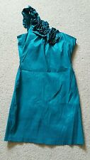 Pretty Green AX One Shouldered Dress Size 14