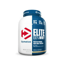 Dymatize Nutrition Elite Whey Protein, Select Flavor, 5 Pound lbs