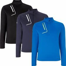 Callaway Golf Opti-Therm 1/4 Zip Fleece Sweater Mens Golf Thermal Pullover 2016