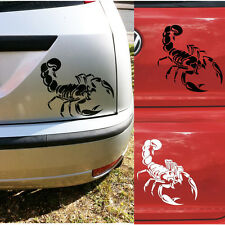 30CM Cute 3D Scorpion Car Stickers Car Styling Sticker for Cars Decoration
