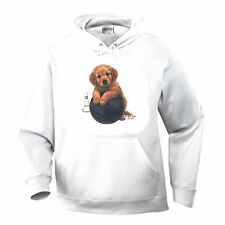 Nature Pets Animals Pullover Hooded Sweatshirt Dog Puppy Bowling