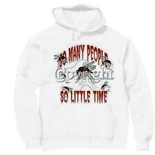 Pullover Hooded Hoodie Sweatshirt Novelty Funny So Many People So Little Time