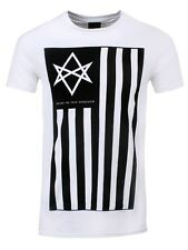 Bring Me The Horizon Antivist Mens White BMTH T-Shirt - NEW & OFFICIAL