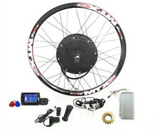 TFT LCD+72v3000W Hi Speed Electric MTB Bicycle E Bike Hub Motor Conversion kit