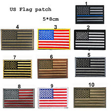 Fashion Magic US Flag Armband Embroidered Patch US Military Patches Sewing 1Pcs