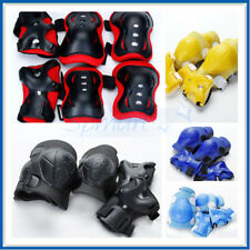 Kid Child Cycling Roller Ski Skating Knee/Elbow/Wrist Guard Protective Gear Pad