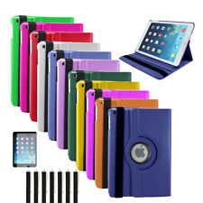 UK 360 Rotating PU Leather Stand Case Cover for Apple iPad Mini 1-2