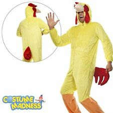 Chicken Rooster Onesie Funny Adult Male Costume