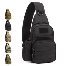 Tactical Sling Chest Daypack Hiking Cycling Bike Shoulder Messenger Bag Backpack
