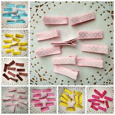 10pcs/lot kids Girls Dot Colorful Hair Clip Hairpin Baby Hair Accessories DIY
