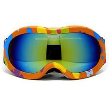 UNISEX KIDS Windproof Anti-Fog Sports Snowmobile Snowboard SKI Snow UV GOGGLES