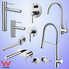 Pull Out Shower Wall Spout Kitchen Basin Mixer Sink Vanity Faucet Cold Hot Tap