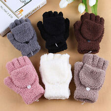 Women's Fashion Winter Fall Hand Wrist Warmer Winter Fingerless Gloves Fashion