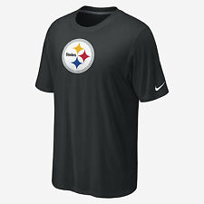 Pittsburgh Steelers Nike NFL Dri Fit Legend Logo Tee T-Shirt NWT (Black)
