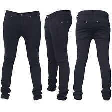Seven Series Mens Branded Designer Trousers Chinos Plain Skinny Slim Biker Jeans