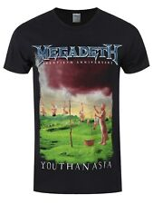 Megadeth Youthanasia Men's Black T-shirt
