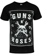 Guns N Roses Street Sign Men's Black T-shirt