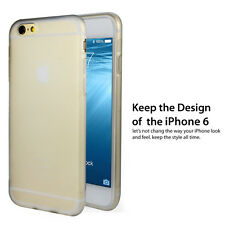 """Sydney Thin Soft TPU Case Fo iphone 6 6s 4.7"""" 9H Tempered Glass Screen Protector"""