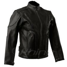 Womens Leather Motorcycle Jacket with vents and armour 8 - 20