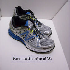 NEW BALANCE M1260SB4 RUNNING SHOES SILVER WITH BRIGHT & LIME MENS SIZE 8.5