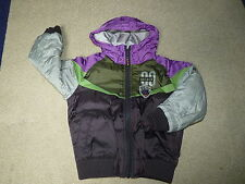 Boys NEXT Multi Coloured Bomber Jacket Age 3 and 5yrs