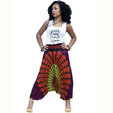 Women Harem Pants National Wind Haroun Pants African Tribes Dashiki Trousers