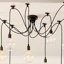 Ceiling Hanging Pendant Industrial E27 Screw Bulb Lamp Holder Base Light Fitting