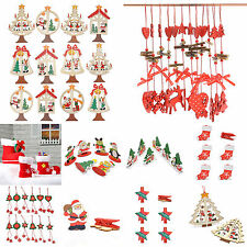 Lovely Christmas Tree Ornaments Xmas Drop Pendant Holiday Party Hanging Decor
