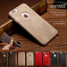 Luxury Ultra-thin PU Leather Back Skin Case Cover For Apple iPhone 6 6S 7 Plus