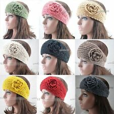 New Lady women knit crochet warm fashion ear warmer headband headwrap Hair Band
