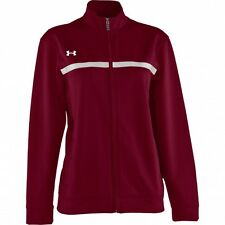 Under Armour Womens Team Campus Warm Up Full Zipper Jacket  Save 50%  Medium