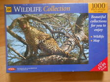 AA WILDLIFE COLLECTION: FEMALE LEOPARD: 1000 PIECE JIGSAW: NEW AND SEALED